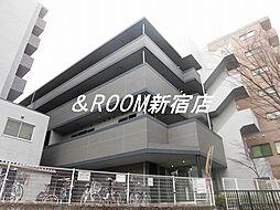 神奈川県川崎市多摩区西生田3丁目の賃貸マンションの外観