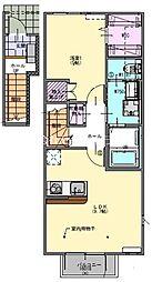 レイクサイド2階Fの間取り画像