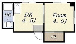 YS第2ビル[2階]の間取り