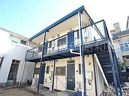 日永田コーポ[2階]の外観