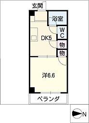 フラット2[2階]の間取り
