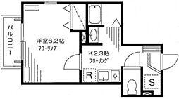 パインヒルズキリタ[2階]の間取り