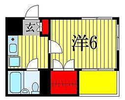 ジュネパレス船橋第3[8階]の間取り