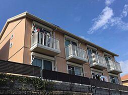 神奈川県横浜市港北区錦が丘の賃貸アパートの外観