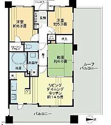 レクセルマンション武蔵野の杜[3階]の間取り