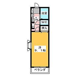 ミュートスNH[2階]の間取り