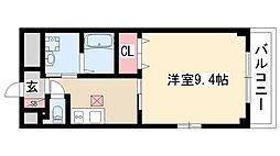 愛知県名古屋市天白区土原5丁目の賃貸アパートの間取り