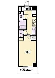 KDXレジデンス南草津[11階]の間取り