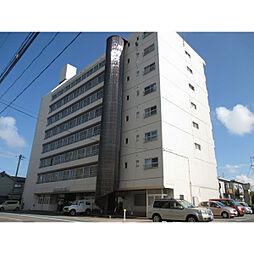 新潟県新潟市中央区文京町の賃貸マンションの外観