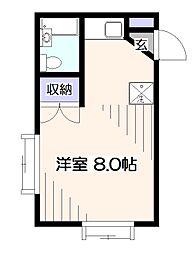 ライブボックス I[2階]の間取り