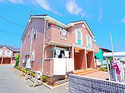 埼玉県志木市下宗岡4丁目の賃貸アパートの外観