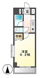 シティライフ春岡[4階]の間取り