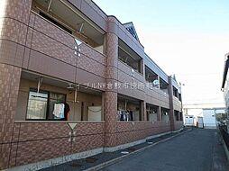 岡山県倉敷市吉岡の賃貸マンションの外観