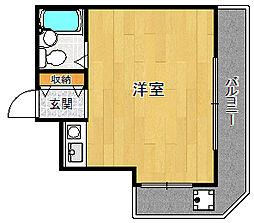 ダイドーメゾン武庫之荘6[1階]の間取り