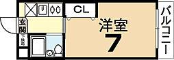 ZONE24[1階]の間取り