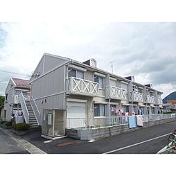 滋賀県野洲市野洲の賃貸アパートの外観