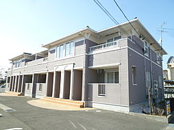 静岡県磐田市豊岡の賃貸アパートの外観
