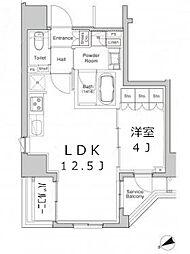 プラウドフラット浅草橋II[11階]の間取り