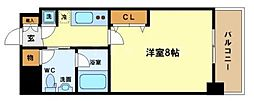 BPRレジデンス京町堀[10階]の間取り