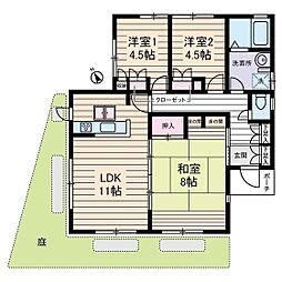 高橋邸[1階]の間取り