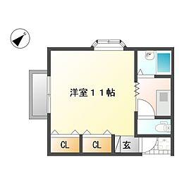 コーポ石井[2階]の間取り