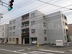 北海道札幌市豊平区美園二条6丁目の賃貸マンションの外観