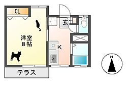 KOICHI21[1階]の間取り