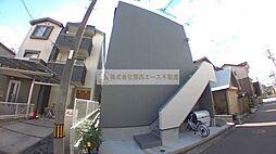 大阪府堺市堺区新在家町西2丁の賃貸アパートの外観