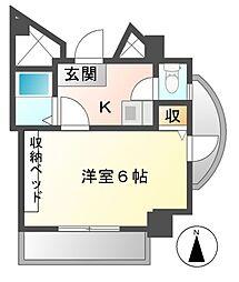 シェラ大曽根[2階]の間取り