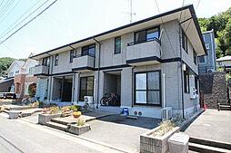 広島県広島市東区中山新町3丁目の賃貸アパートの外観