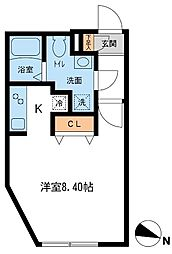 Branche新中野[3階]の間取り