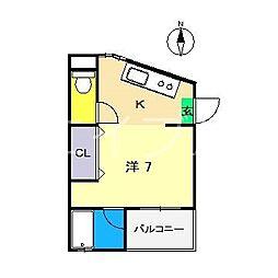 メゾンIKKOQU[3階]の間取り