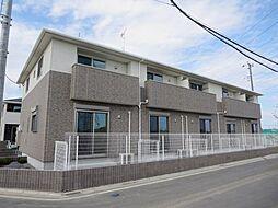 埼玉県さいたま市岩槻区大字釣上の賃貸アパートの外観