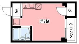 ウイング武庫川[301号室]の間取り