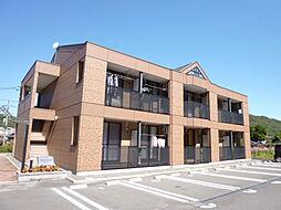 岡山県倉敷市広江6丁目の賃貸アパートの外観