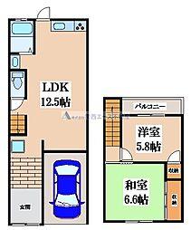 [一戸建] 大阪府大阪市東成区大今里2丁目 の賃貸【/】の間取り
