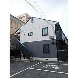 埼玉県春日部市中央1-の賃貸アパートの外観