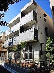 東京都北区田端3丁目の賃貸アパートの外観