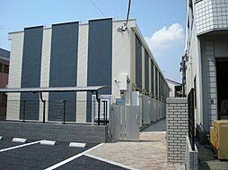 東京都江戸川区宇喜田町の賃貸アパートの外観