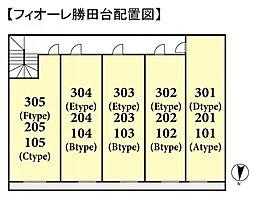 フィオーレ勝田台[1階]の外観