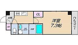 リバーライズ東小橋II[205号室]の間取り