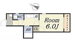 アベニール[3階]の間取り