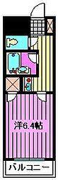 宮原プラザC棟[4階]の間取り