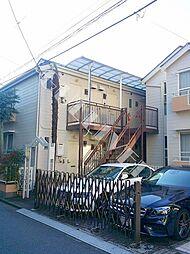 東京都中野区新井2丁目の賃貸アパートの外観