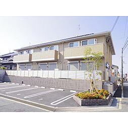 奈良県磯城郡田原本町阪手の賃貸アパートの外観