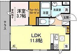 エディーハウスIII[2階]の間取り