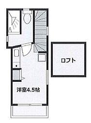 コートハウス南馬込II bt[206kk号室]の間取り
