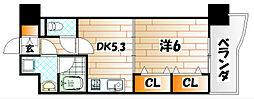ニューシティアパートメンツ南小倉II[3階]の間取り