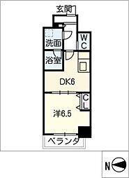 MEIBOU TESERA[8階]の間取り