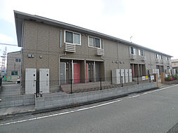 兵庫県加古川市別府町西脇の賃貸アパートの外観